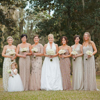 Bridesmaids, Bridesmaids Dresses, Fashion, And, Mix, Match, Mismatched