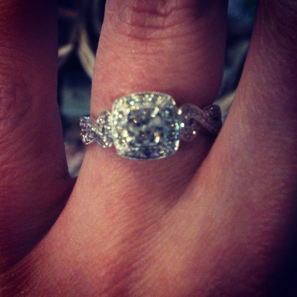 Jewelry, white, silver, gold, Diamond, Engaged, Bling, Fiance, Diamonds, Sparkly, Engagementring, Kayjewelers, Whitegold
