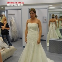 Wedding Dresses, Lace Wedding Dresses, Fashion, white, ivory, dress, Lace, Tulle, Mydress, Alfredangelo, Fitandflare, Chapeltrain, Theone, tulle wedding dresses