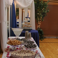 Reception, Flowers & Decor, Table, Treat