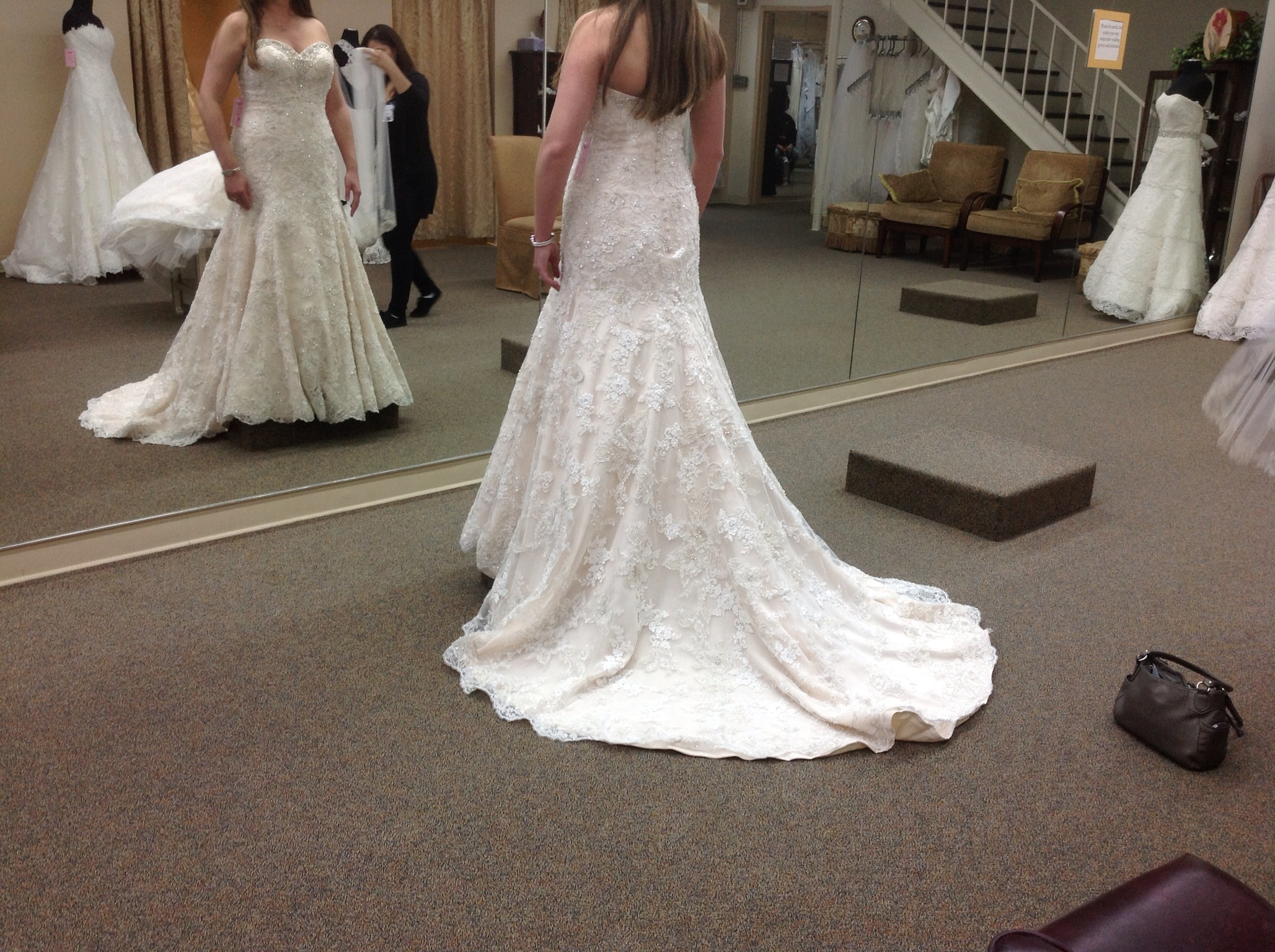 Lace, Notmydress, Badstore, Notthedress, Feltfat, Tooheavy, Overbudget