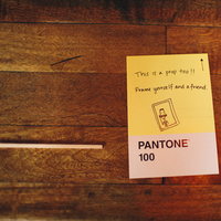 Stationery, yellow, Guestbooks, Pantone, Hannah joe