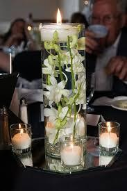 Reception, Flowers & Decor, white, ivory, red, Flowers, Roses, Flower, Vase, Rose, Vases, Crimson, Underwaterflowers, Floatingcandles, Floatingcandle, Submergedflowers