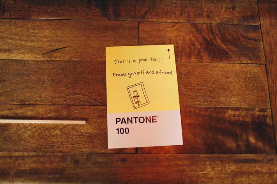 Stationery, yellow, Guestbooks, Pantone, Hannah joe