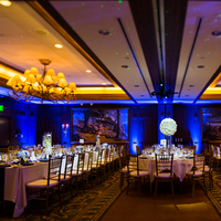 Reception, Flowers & Decor, Decor, blue, Glam, Lighting, Nautical, Ballroom, Raquel jason