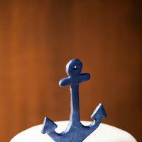 Cakes, blue, cake, Wedding, Nautical, Toppers, Anchor, Raquel jason