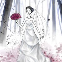 Wedding Dresses, Fashion, pink, purple, dress
