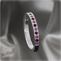Jewelry, pink, red, silver, gold, Band, Half, Inspiration board, Eternity, Ruby, Garnet