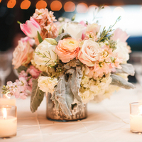 Flowers & Decor, Decor, pink, Centerpieces, Summer, Classic, Vineyard, Flowers, Southern, Classic Wedding Flowers & Decor, Vineyard Wedding Flowers & Decor, Wedding, Feminine, Pastel, Julie tim