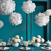 blue, Centerpieces, Wedding decorations, Wedding flowers and decor