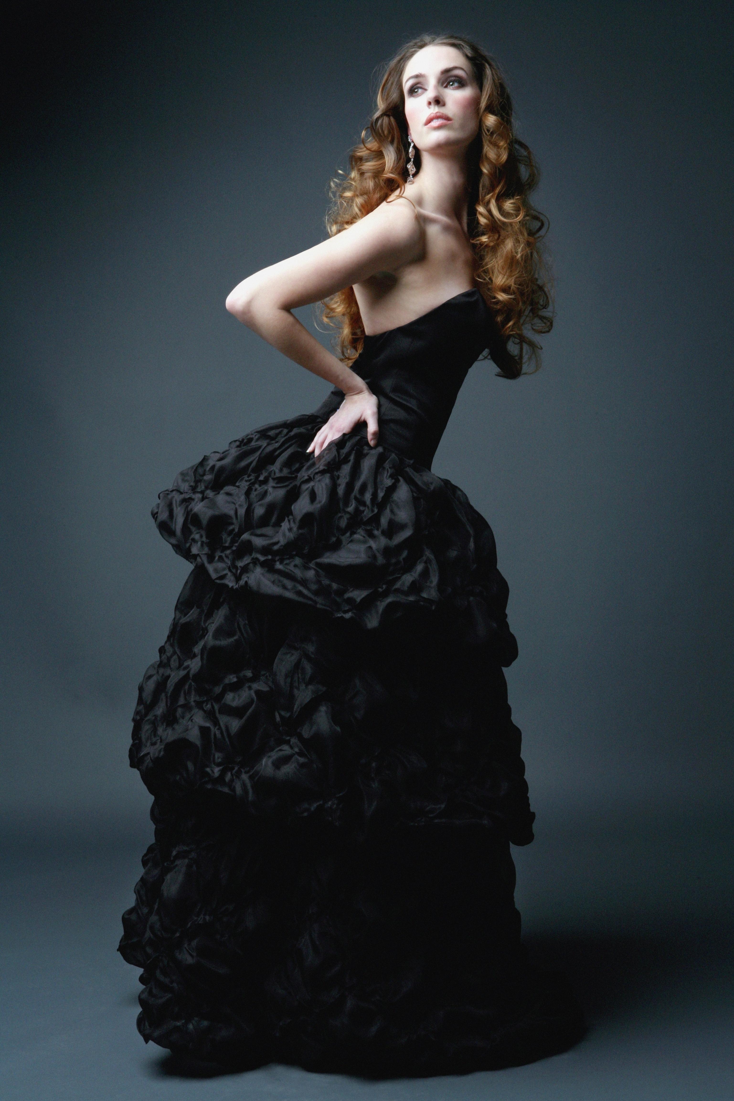 Wedding Dresses, Fashion, black, dress