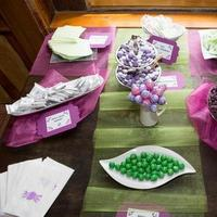 purple, green, Candy, Buffet
