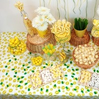 DIY, Reception, Flowers & Decor, Favors & Gifts, Cakes, yellow, green, cake, Favors, Food, Wedding, Party, Table, Candy, Buffet, Display, Inspiration board, Bar, Snacks