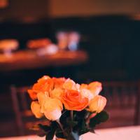 Reception, Flowers & Decor, Decor, Centerpieces, Fall, Roses, Autumn, Hannah joe