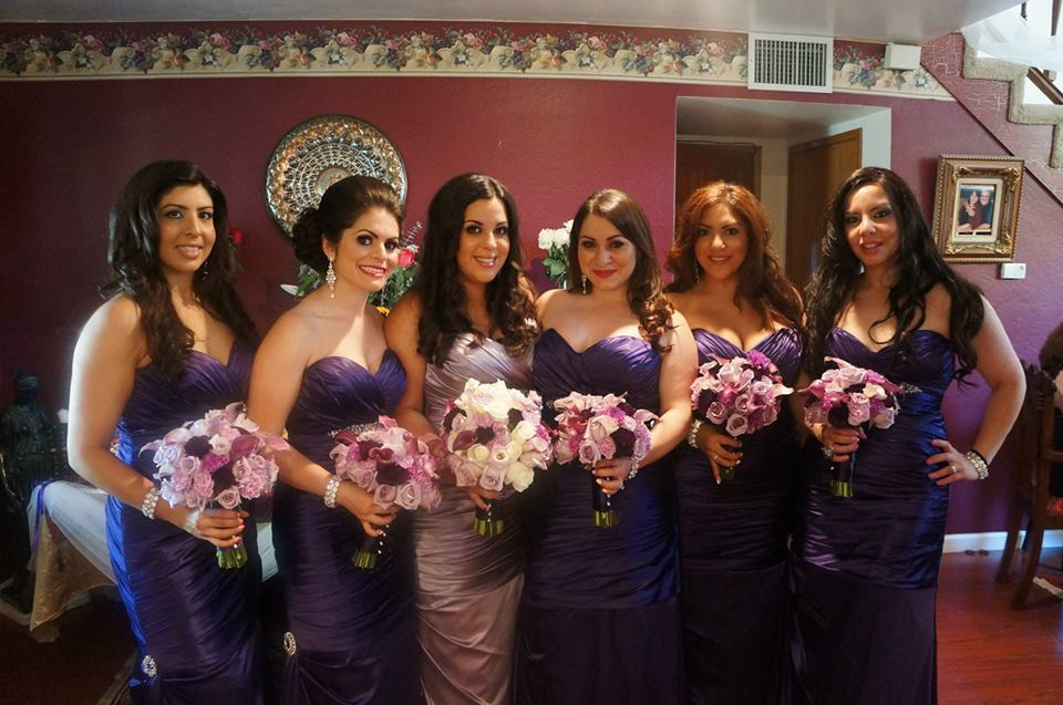 Bridesmaids, Bridesmaids Dresses, Wedding Dresses, Fashion, purple, silver, dress, Inspiration board