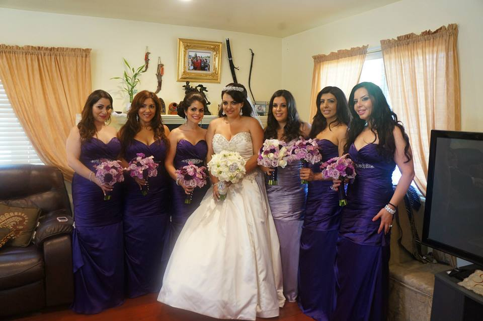 Bridesmaids, Bridesmaids Dresses, Wedding Dresses, Fashion, white, purple, silver, dress