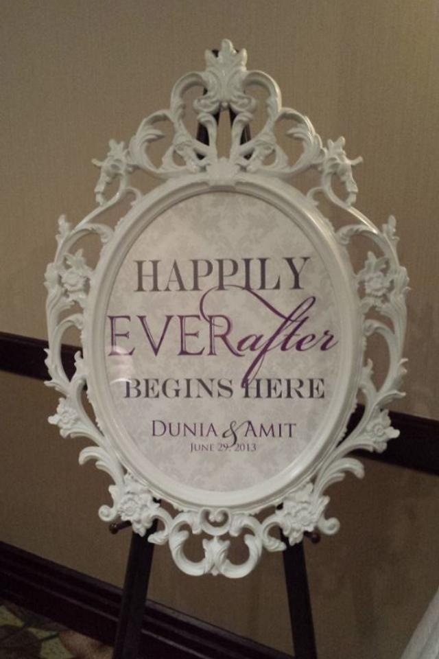 Reception, Flowers & Decor, white, purple, After, Inspiration board, Sign, Ever, Happily