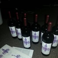 Reception, Flowers & Decor, purple, Wine, Labels