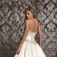 Wedding Dresses, Fashion, white, silver, dress