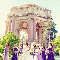 Ceremony, Reception, Flowers & Decor, Bridesmaids, Bridesmaids Dresses, Wedding Dresses, Fashion, white, purple, silver, dress, Ceremony Flowers, Bridesmaid Bouquets, Flowers, Inspiration board, Flower Wedding Dresses
