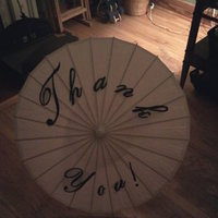 DIY parasol how-to