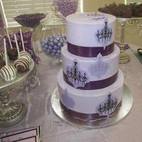 Cakes, purple, silver, cake, Inspiration board