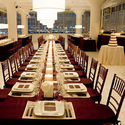 1375152241 thumb new york magazine weddings  burgundy linens and white candles