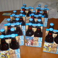 DIY Wedding Challenge 2010 - Personalized Soda Bottle Favors