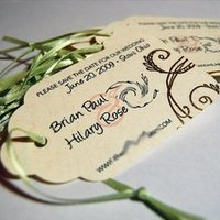 DIY Wedding Challenge: Save the Date Tags