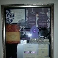 Reception, Flowers & Decor, Stationery, Cakes, purple, cake, Invitations, Flowers, Inspiration board
