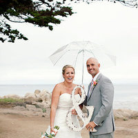 Wedding, Grey, Umbrella, Props, Rainy, Ampersand, Wendy mike
