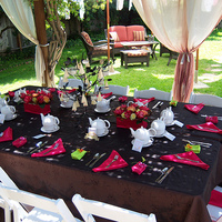 DIY Wedding Challenge: Hot Pink Floral Centerpieces