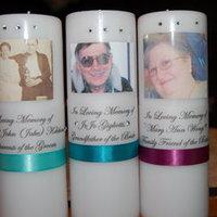 DIY Memorial Candles