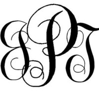 EASY DIY: Interlocking Script Monogram