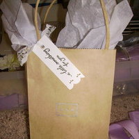 DIY Wedding Challenge: OOT Bags or Bridal Party Gift Bags