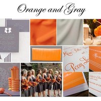 CPOW: Orange and Gray