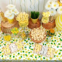 Yellow Candy Buffet Inspiration