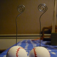 DIY Wedding Challenge 2010: Baseball Placecard Holders