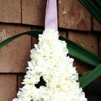 DIY Wedding Challenge: Hydrangea Letters