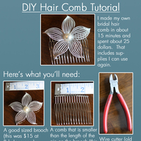 {ChildofHope's} DIY Hair Comb Tutorial