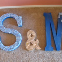 DIY Wedding Challenge: Wedding Letters