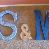 DIY Wedding Challenge: Wedding Letters