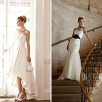 White House Black Market Bridal:  A Portrait in Contrast