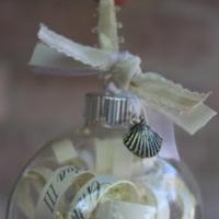 DIY: Wedding invite ornaments!