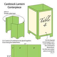 DIY Wedding Challenge: Paper Lantern Centerpieces