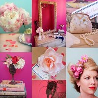 Vintage Pin-Up Girl Bridal Shower