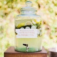 Drink Display Inspiration For Your Wedding Reception