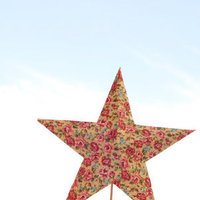 DIY: Vintage Star Cake Toppers