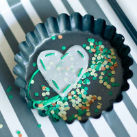 DIY: Cute Confetti Hearts