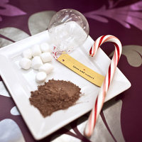 DIY: Hot Cocoa Ornament Favors